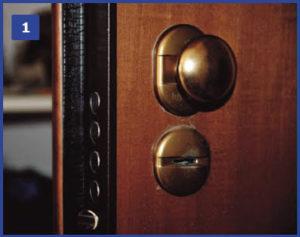 serratura doppia